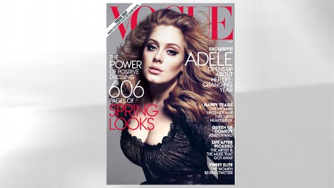ht adele vogue cover jef 120213 wblog Adele Graces Vogues March Cover