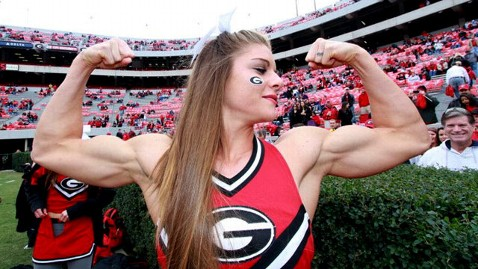 ht anna watson dm 120201 wblog Weightlifting Cheerleader Says No to $75K Modeling Contract