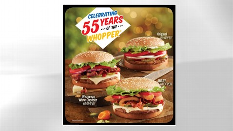 ht anniversary whopper sandwich jt 121026 wblog Burger King Celebrates 55th Anniversary of the Whopper