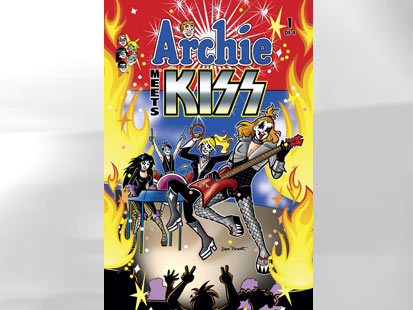 ht archie meets kiss comic thg 110920 main Archie Comics Meets the Rock Band Kiss