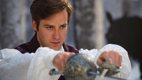 ht armie hammer mirror ll 120329 wblog Armie Hammer Discusses Licking Julia Roberts for Mirror Mirror