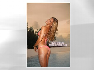 PHOTO Bar Refaeli is shown in Maldives during her photo shoot for the 2010 Sports Illustrated Swimsuit Issue.