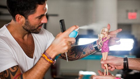 ht barbie pink blonds  backstage hairstylist 15000 thg 120920 wblog Designers Auction $15,000 Pink Diamond Barbie