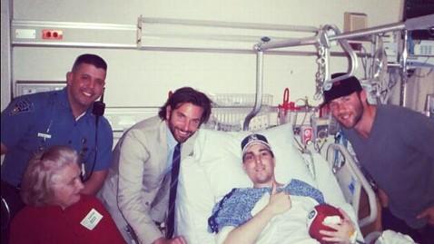 ht bradley cooper boston nt 130419 wblog Bradley Cooper Visits Bombing Victim (Photo)
