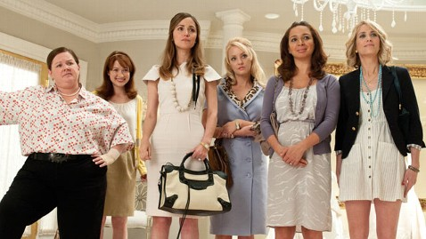 ht bridesmaids nt 111214 wblog Will Bridesmaids 2 Walk Down the Aisle Without Kristen Wiig?