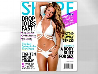 PHOTO: Britney Spears discusses dieting in the June issue of Shape magazine.