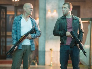 PHOTO: John McClane (Bruce Willis) and his son Jack (Jai Courtney) unexpectedly join forces to stop a nuclear weapons heist.