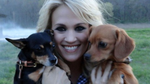 ht carrie underwood dogs nt 120424 wblog Carrie Underwoods 5 Must Haves While on Tour