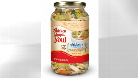 ht chicken soup kb 120828 wblog Chicken Soup for the Soul to Launch Food Line