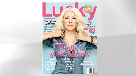ht christina aguilera lucky dm 120906 wblog Christina Aguilera Loves Her Booty, Cleavage