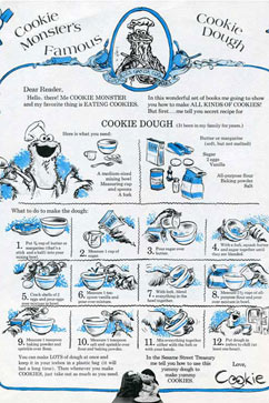 ht cooki monster cookie dough recipe thg 120822 vblog Cookie Monsters Original Cookie Recipe Recovered