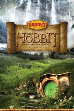 ht dennys hobbit menu lpl 121025 vblog Dennys to Debut Hobbit Themed Menu