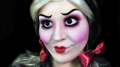 ht doll face jef 121015 wblog Makeup Artists Haunting Halloween Transformations