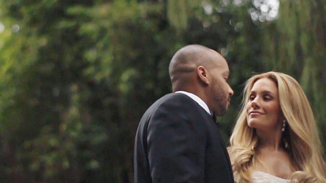ht donald faison cacee cobb wedding 3 wmain New Photos: Cacee Cobb and Donald Faisons Wedding