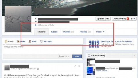 ht facebook timeline redesign tabs jef 121220 wblog Facebook May Be Changing Your Timeline: Redesign Tests in Progress