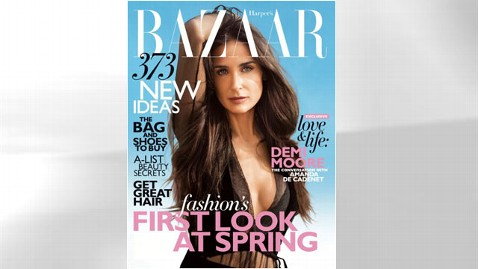ht harpers bazaar demi moore thg 120104 wblog Demi Moore Reveals Her Biggest Fears, and Guilty Pleasure