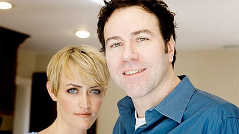 Heather Armstrong with fun, Husband Jon Armstrong