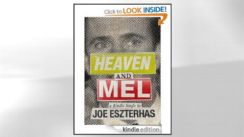 ht heaven and mel cover jef 120607 wblog Mel Gibson Tell All Book Released