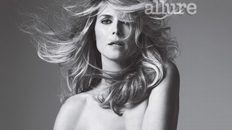 ht heidi klum nude allure ll 120416 wblog Heidi Klum Goes Nude for Allure Cover Shoot