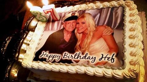 ht hugh hefner birthday cake ll 130410 wblog Hugh Hefners 87th Birthday Celebration: All the Details