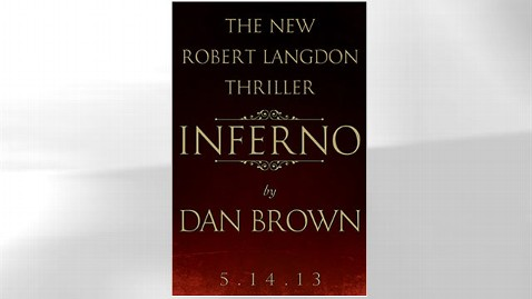 ht inferno dan brown novel thg 130115 wblog New Dan Brown Novel, Inferno, Set for May Release