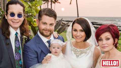 ht jack osbourne wedding hello nt 121016 wblog Osbourne Family Expands: Jack Shows Off New Wife in Wedding Photos