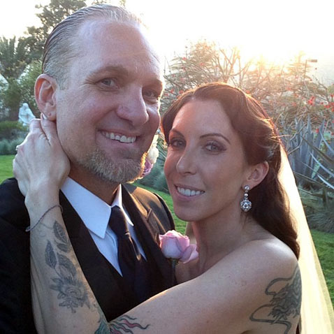 ht jesse james alexis dejoria jef 130326 vblog Jesse James Wedding Photo