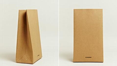 ht jil sander paper bag nt 120828 wblog $290 for a Designer Paper Bag