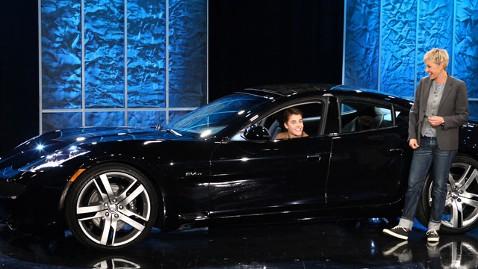 Justin Bieber Car Ellen