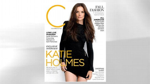 ht katie holmes dm 120725 wblog Katie Holmes Never Mentioned Tom Cruise in Interview Day Before Divorce Filing