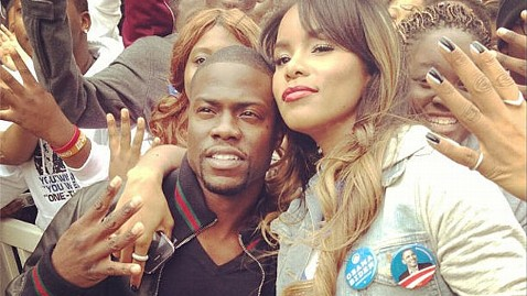 ht kevin hart election obama lpl 121105 wblog Jay Z, Springsteen, Kid Rock, and More Stars Swarm the Campaign Trail
