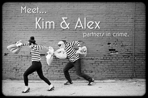 ht kim alex 1 120716 blog Partners In Crime: Engagement Photos Show Romance, Robbery