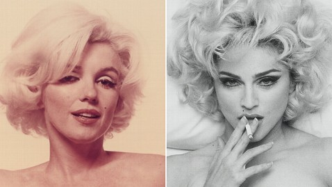 ht marilyn monroe madonna nude jrs 120508 wblog Nude Photos of Marilyn, Madonna Up for Auction