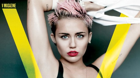 ht miley cyrus v magazine cover thg 130501 wblog Miley Cyrus Talks Liam Hemsworth and Their Busy Lives