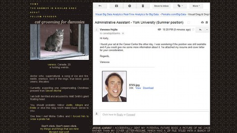 ht nic cage email jef 120712 wblog Terrifying Nicolas Cage Photo Teaches Student an Email Lesson
