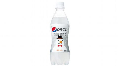ht pepsi white dm 121101 wblog Pepsi Japan to Release Clear, Tangerine Flavored Pepsi White