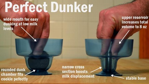 ht perfect dunker jef 130401 wblog Ultimate Cookie Dunker Cup Debuts on Kickstarter