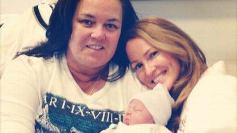 ht rosie baby mi 130109 wblog Rosie ODonnell Welcomes Baby Girl
