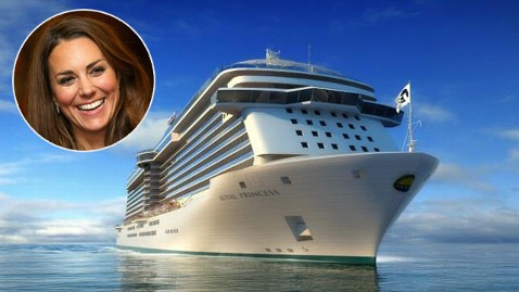 ht royal princess middleton nt 130409 wblog Duchess Kate Middleton Named a Godmother ... to a Cruise Ship
