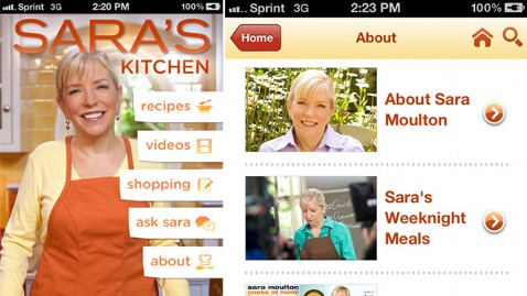 ht saras kitchen dm 111209 wblog Saras Kitchen: Sara Moultons New App for iPhone