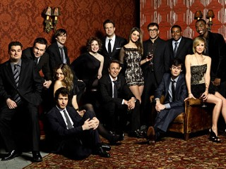 PHOTO: The cast of Saturday Night Live, from left: Bobby Moynihan, Taran Killam, Paul Brittain, Abby Elliott, Andy Samberg, Vanessa Bayer, Jason Sudeikis, Nasim Pedrad, Fred Armisen, Bill Hader, ...