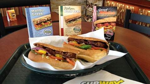 ht subway vegan sweet riblet sandwich ll 120614 wblog Subway Tests New Vegan Sandwiches