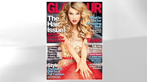 ht swift glamour cover jef 120928 wblog Taylor Swift, All Glammed Up: Behind the Scenes at Singers Glamour Shoot