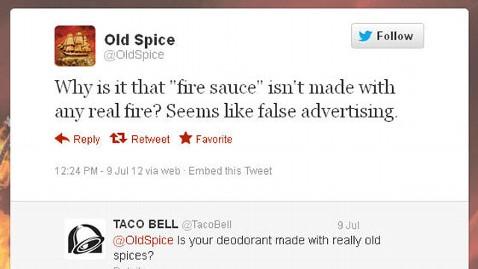 ht taco bell old spice twitter jef 120712 wblog Taco Bells Fire Sauce Sparks Twitter War