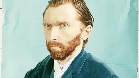 ht tadao cern art kb 130111 wblog Artist Recreates Famous Van Gogh Self Portrait as Modern Day Photograph