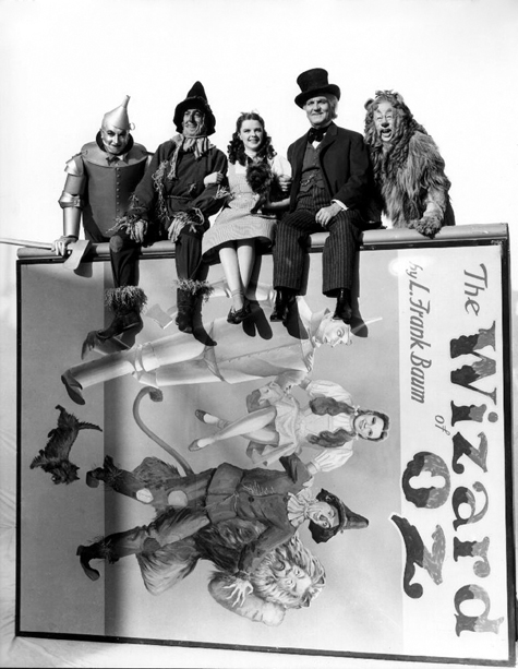 ht the wizard of oz by sitting atop frank baums iconic book 130405 blog Rare Hollywood & Pin Up Photos on Auction