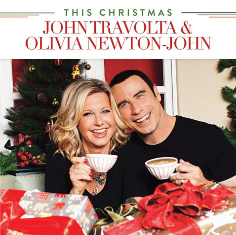 ht this christmas john travolta olivia newton john ll 121003 wblog Olivia Newton John, John Travolta Reunite for Charity Christmas Album