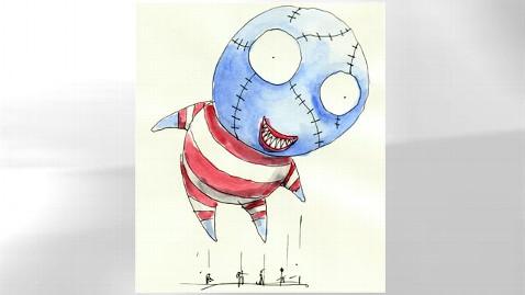 ht tim burton balloon jef 111021 wblog Tim Burton Makes Thanksgiving Day Parade Debut With B.