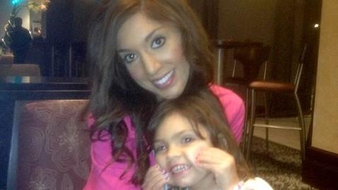 inf farrah abraham mi 130108 wblog Teen Mom Star Farrah Abraham Waxes 3 Year Olds Eyebrows