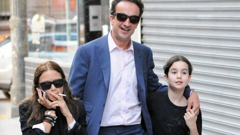 Mary Kate Olsen Spotted Smoking With Olivier Sarkozy And His